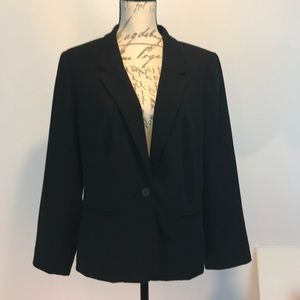 Kenzie Black Lined Women's Blazer